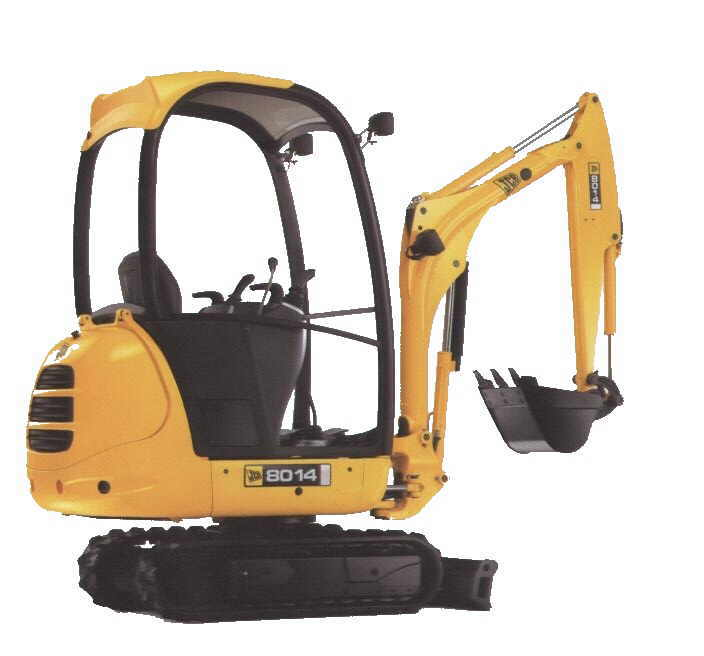 Mini excavator digger hire